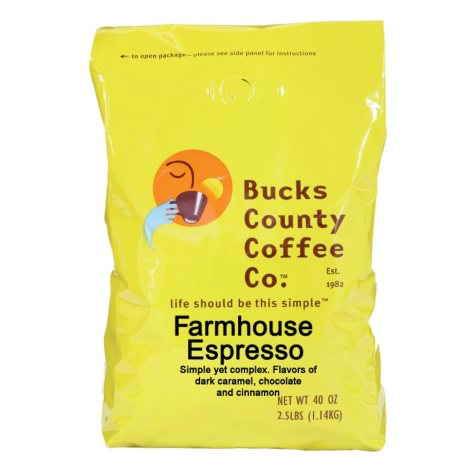 Bucks County Farmhouse Espresso Coffee (2.5 lb.)