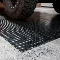 7.5' x 17' G-Floor Garage and Utility Flooring - Diamond Tread