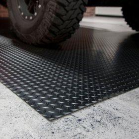 7.5' x 17' G-Floor Garage and Utility Flooring - Diamond Tread
