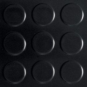 G-Floor 8.5' x 22' Midnight Black Garage and Utility Flooring - Coin