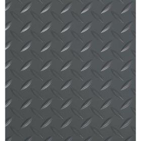 G-Floor 8.5' x 24' Slate Grey Garage and Utility Flooring - Diamond Tread