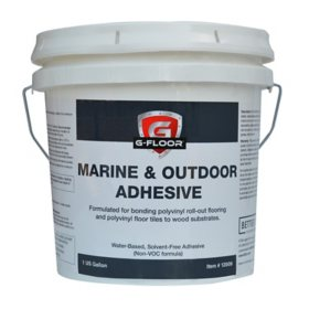 G-Floor Marine and Outdoor Adhesive - 1 Gallon