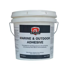 G-Floor Marine and Outdoor Adhesive - 4 Gallon