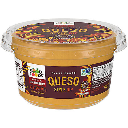 Good Foods Plant Based Queso Style Dip (24 oz.)