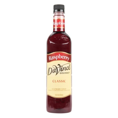 DaVinci Gourmet Classic Raspberry Beverage Syrup (750 ml)