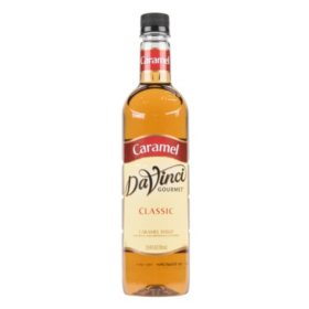 DaVinci Gourmet Classic Caramel Beverage Syrup (750 ml)