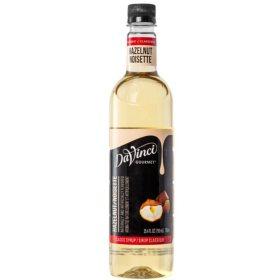 DaVinci Gourmet Classic Hazelnut Beverage Syrup (750 ml)