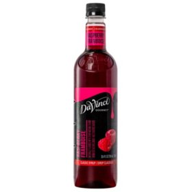 DaVinci Gourmet Classic Raspberry Beverage Syrup (750 ml)