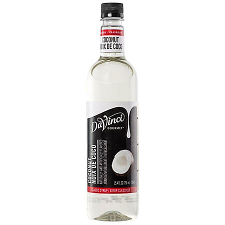 DaVinci Gourmet Classic Coconut Syrup (750 ml)