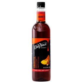 DaVinci Gourmet Amaretto Beverage Syrup (750 ml)