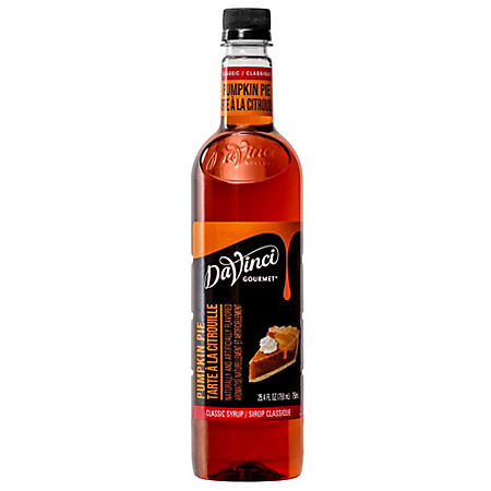 Davinci Gourmet Pumpkin Pie Beverage Syrup (750 ml)