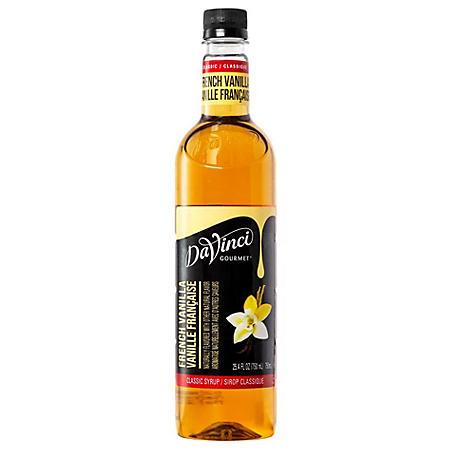 DaVinci Gourmet French Vanilla Syrup (25.4 oz.)