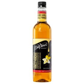 DaVinci Gourmet Classic French Vanilla Beverage Syrup (750 ml)