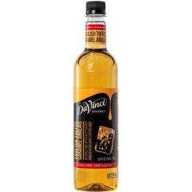 DaVinci Gourmet Classic English Toffee Beverage Syrup (750 ml)