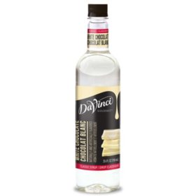 DaVinci Gourmet White Chocolate Beverage Syrup (750 ml)