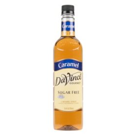 DaVinci Gourmet Sugar-Free Caramel Beverage Syrup (750 ml)