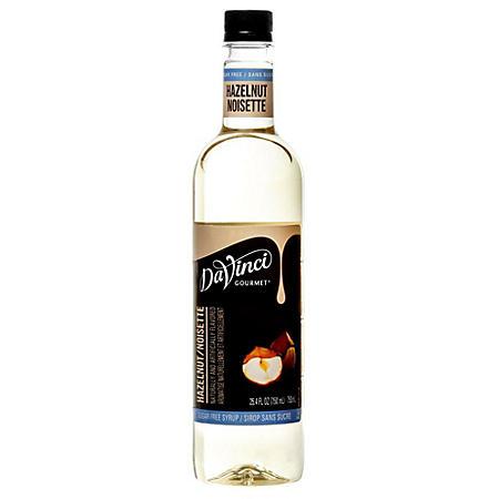 DaVinci Gourmet Sugar-Free Hazelnut Beverage Syrup (750 ml)