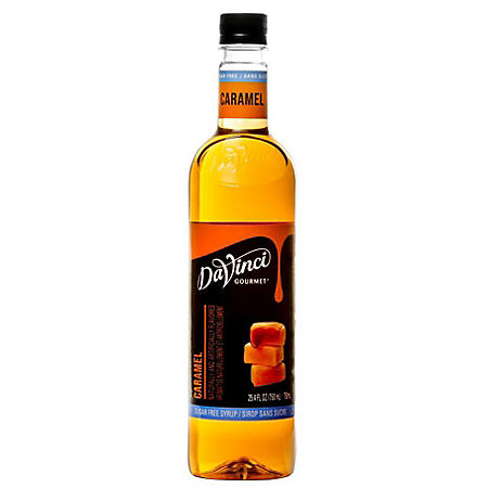 DaVinci Gourmet Sugar-Free Caramel Syrup (25.4 oz.)
