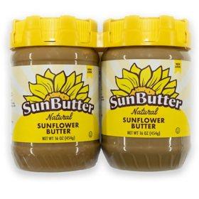 Sunbutter Natural Twin Pack