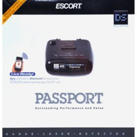 Passport Radar Detector >> Escort Passport Radar Laser Detector Sam S Club