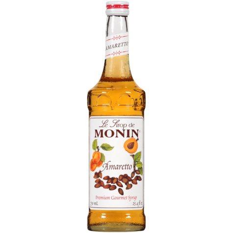 Monin Amaretto Premium Gourmet Syrup (25.4 fl. oz.)