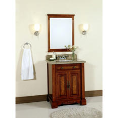 "Windsor 28"" Single Bowl Vanity with Granite Top"