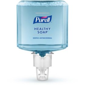 Purell Foodservice HEALTHY SOAP Antimicrobial Foam?Refill, ES6 (1200ml, 2 pk.)