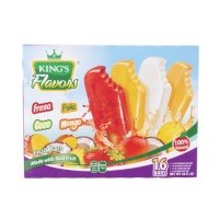 King's Flavor Fruit Bars Variety Pack (16ct/3oz each)