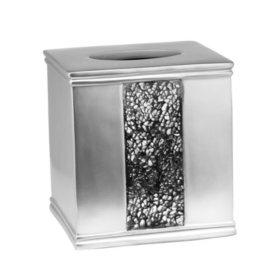 Sinatra Silver Sequins Design Tissue Box