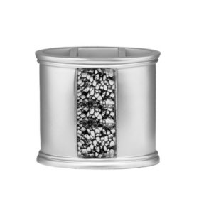 Sinatra Silver Sequins Design Tooth Brush Holder