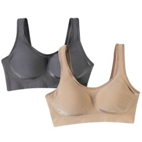 379e5066a224c Bali Comfort Revolution Wire Free Shaping Bra- 2 Pack