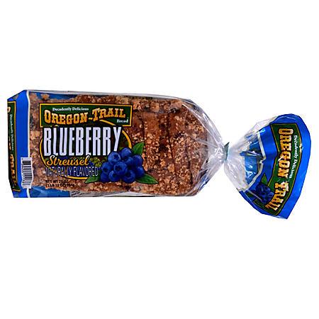 Oregon Trail Blueberry Streusel Bread (28 oz.)