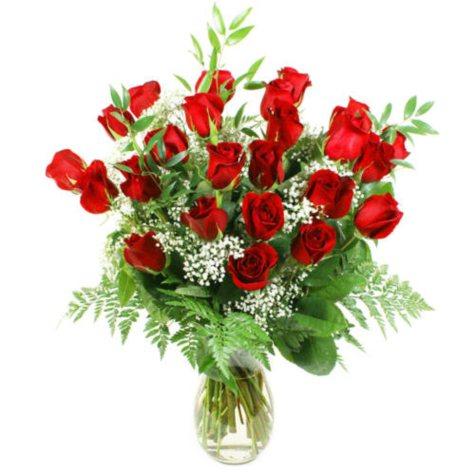 VARIANT Red Rose Bouquet (2 dozen roses)