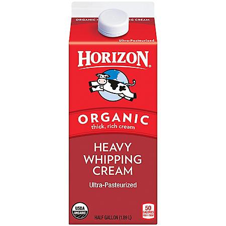 Horizon Organic Heavy Whipping Cream (half gallon) - Sam's ...