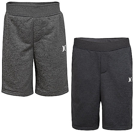Hurley Dry Solar French Terry Shorts 2-Pack