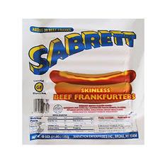 Sabrett Skinless Beef Frankfurters (30 ct.)