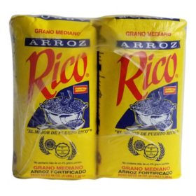 Rico Medium Grain Rice (3 lb. 10 pk.)