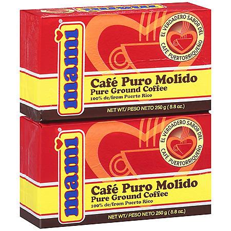 Mami Pure Ground Coffee (2/8.8 oz.)