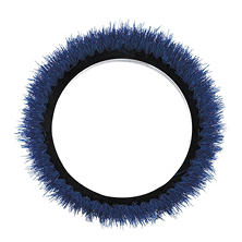 "Oreck Commercial Orbiter Scrubbing Brush, Black/Blue (12"" dia.)"