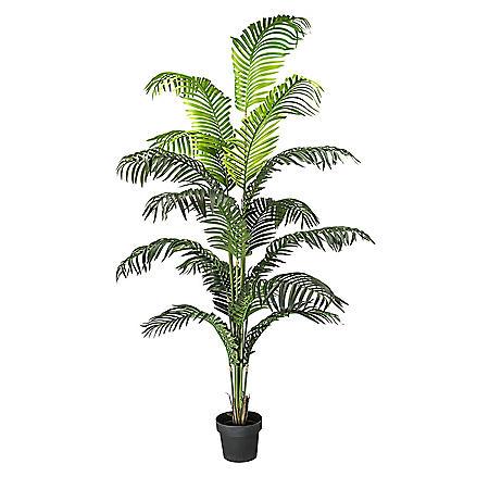 "Faux 72"" Palm Tree in a Pot"