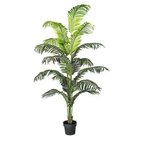 "Faux 72"" Palm Tree in a Pot"