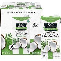 So Delicious Dairy Free Organic CoconutMilk Aseptic (32 fl. oz., 6 pk.)