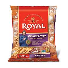 Royal Chakki Atta Whole Wheat Flour (20 lb.)