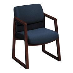 HON - 2400 Series Guest Arm Chair, Mahogany Finish - Various Colors