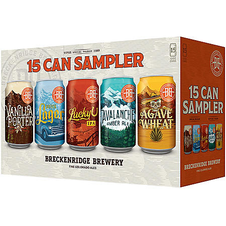 Breckenridge 15 Can Sampler (12 fl. oz. can, 15 pk.)