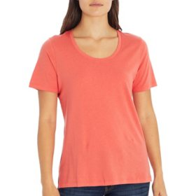 Eddie Bauer Ladies Short Sleeve Scoop Tee