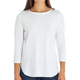Isaac Mizrahi Ladies 3/4 Sleeve Tee