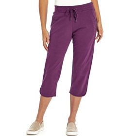 Eddie Bauer Ladies French Terry Capri
