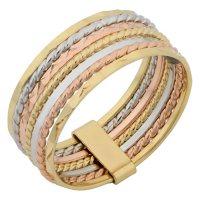 14K Tri-Color 7 Days Ring