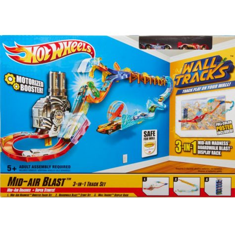 Hot Wheels® Wall Tracks™ Mid-Air Blast Buildup